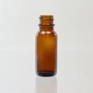 1/2 OZ Boston Round 18/400 Amber Glass Bottle - 540/case