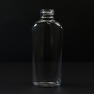 2 oz 20/410 Classic Oval Clear PET Bottle