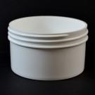 6 oz 89/400 Regular Wall Straight Base White PP Jar