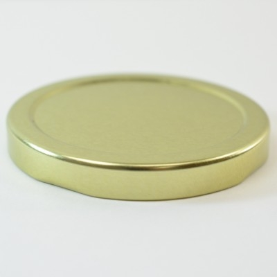 58/2020 Regular Twist Open with Button Gold Metal Cap / Plastisol Liner