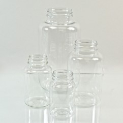 Clear PET Pharmaceutical Packers