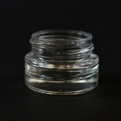 1/4 oz 33/400 Renoir Clear Glass Jar