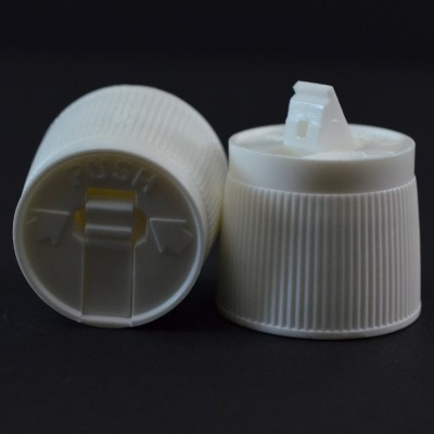 24/410 White Dispensing Spouted Cap CR PS-194 Valve Seal PP