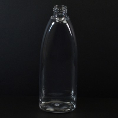 10 oz 24/410 Tear Oval Clear PET Bottle