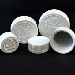 Child Resistant Plastic Caps