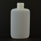 2 oz 20/410 Drug Oval Natural HDPE Bottle