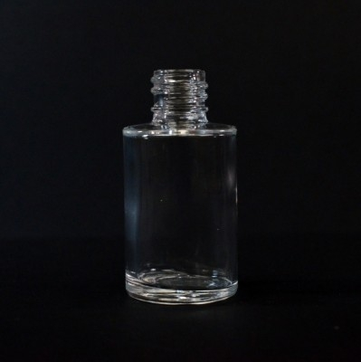 1 OZ 18/415 Cylinder Round Clear Glass Bottle  - 240/case