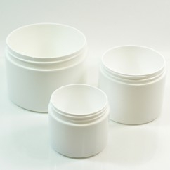 Double Wall Straight Base Plastic Jars
