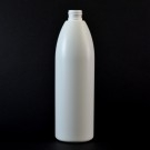 12 oz 24/410 Evolution Round White HDPE Bottle