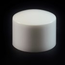 24/410 White Convex Symmetrical Cap to 8 oz #200