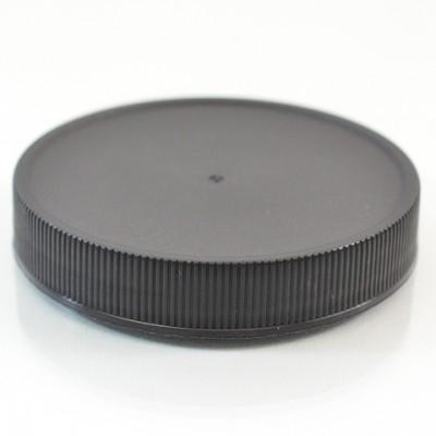 63/400 Black Ribbed Straight PP Cap / F217 Liner - 900/Case