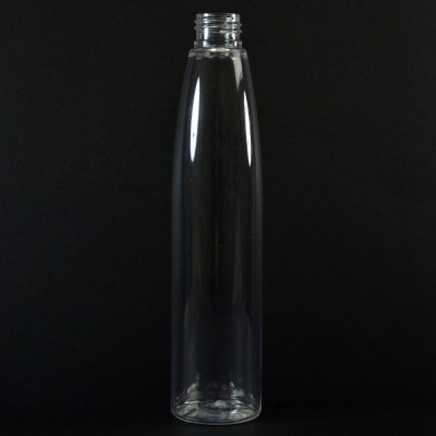 250 ML 24/410 Evolution Slim Round Clear PET Bottle