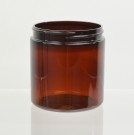 8 oz 70/400 Amber PET Jar