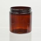 8 oz 70/400 Amber PET Jar