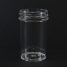 2 oz 43/400 Regular Wall Straight Base Clear PS Jar