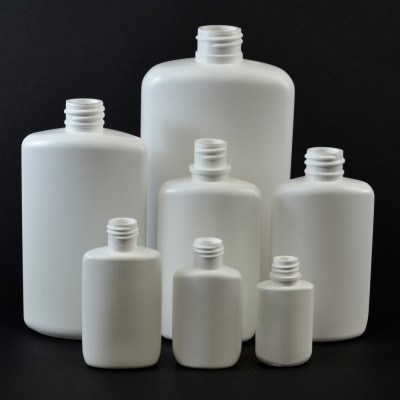 Drug Oval Plastic Bottles