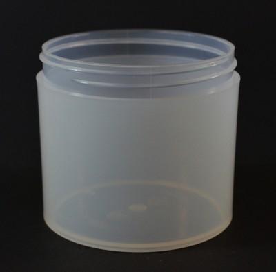 12 oz 89/400 Natural Thick Wall Straight Base PP Jar