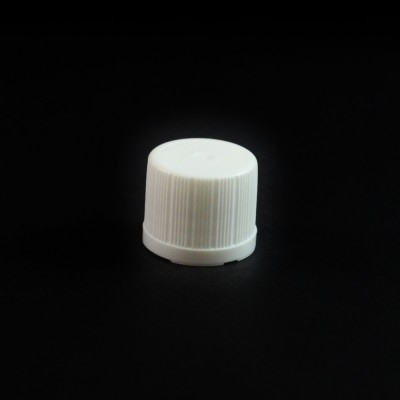 18-DIN White Regular Vertical Dropper Cap