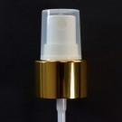 20/410 Fine Mist Sprayer Shiny Gold/White/Clarified Hood - 1000/Case