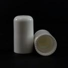 18/415 Nail Polish PP Cap Exuma Smooth White 18mm Plug/Brush/Spatula