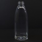 6 oz 24/410 Tear Oval Clear PET Bottle