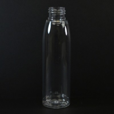 4 oz 20/410 Evolution Round Clear PET Bottle