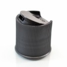 24/410 10-5410 Ribbed Black Presstop Dispensing Cap PP
