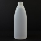 8 oz 24/410 Teardrop Oval Natural HDPE Bottle