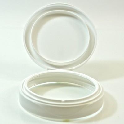 70/400 White Symphony Jar Lid