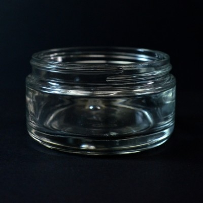 200 ML 89/400 Volga Clear Glass Jar