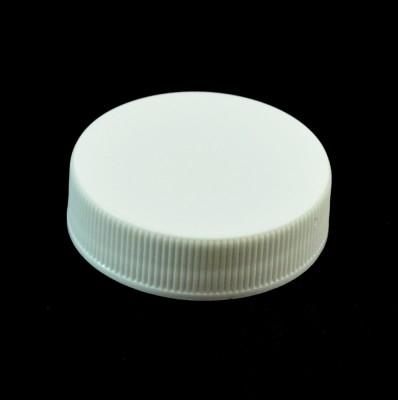 38/400 White Ribbed Straight PP Cap / F217 Liner