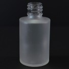 1 oz 18/415 Cylinder Frosted Glass Bottle