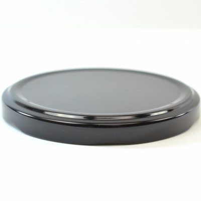 82/2050 Regular Twist Open / Step Black Metal Cap / Plastisol Liner