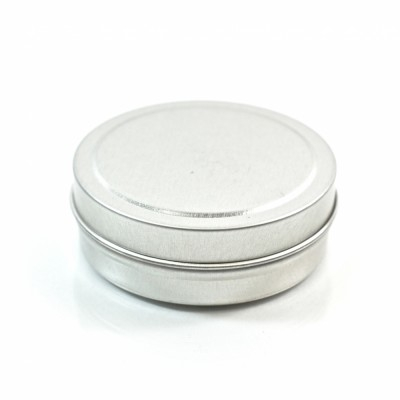 1 oz. Seamless Shallow Metal Straight Base Jar