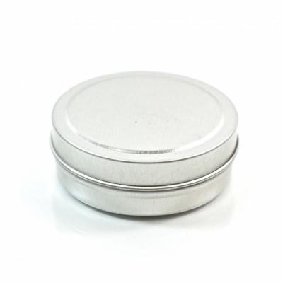 1 oz. Seamless Shallow Metal Straight Base Jar