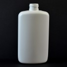 10 oz 24/410 Drug Oval White HDPE Bottle
