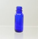 1/2 oz Boston Round 18/400 Cobalt Glass Bottle