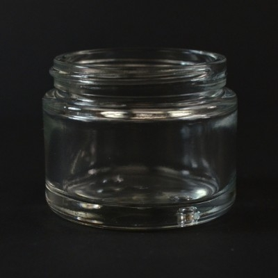 1.3 oz 51/400 Renoir Clear Glass Jar