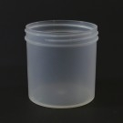 6 oz 70/400 Regular Wall Straight Base Natural PP Jar