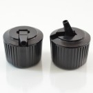 24/410 Black Dispensing Spouted Cap Wl PS-331 Valve Seal PP