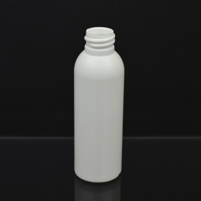 2 oz 24/410 Imperial Round White HDPE Bottle
