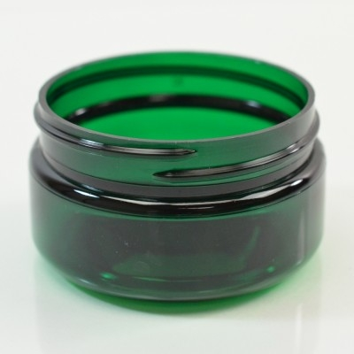 2 oz 58/400 Low Profile Emerald PET Jar
