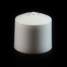 24/410 White Push Pull Convex Dispensing Symmetrical Cap to 4 oz #217