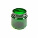 1 oz 38/400 Wide Mouth Emerald PET Jar