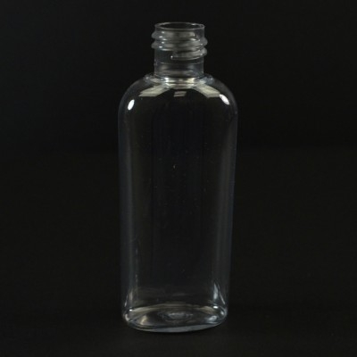 4 oz 20/415 Cosmoval Clear PET Bottle