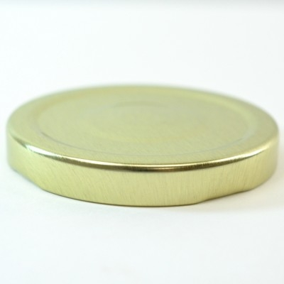 63/2030 Regular Twist Open with Button Gold Metal Cap / Plastisol Liner
