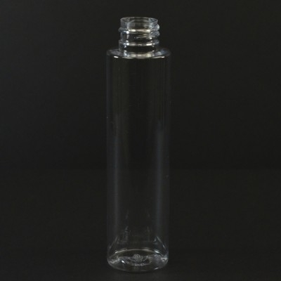 75 ML 20/410 Cylinder Round Clear PET Bottle
