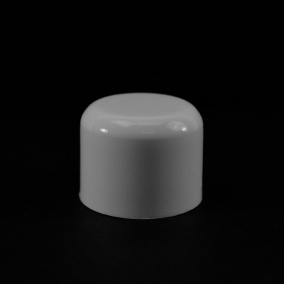 24/410 White Soft Shoulder Symmetrical Cap to 2 oz