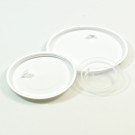 89mm white LDPE Sealing Disc with tab