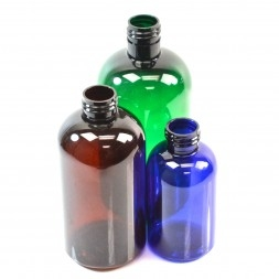 Boston Round PET Bottles